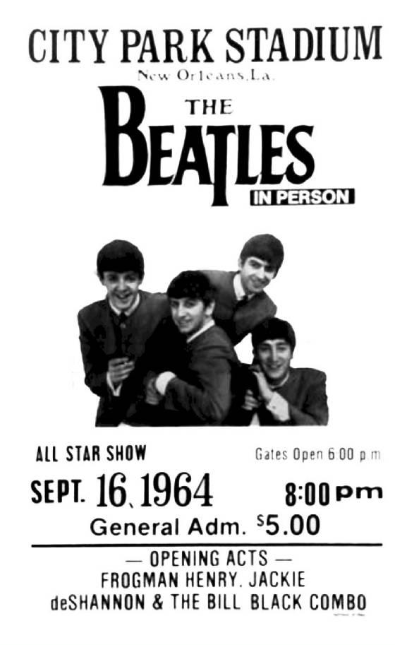Bill Holt Chevrolet >> 1964 Beatles in New Oreans
